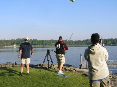 Ron James casting out