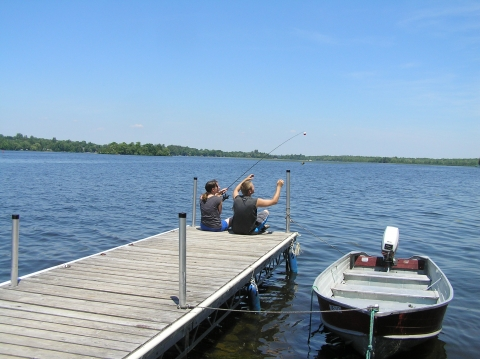 Fishing & Fun at Lakeside Cottages