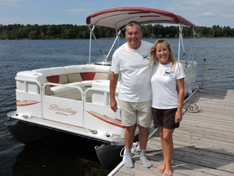 Your Hosts & Friends Mike & Eileen Lakeside Cottages